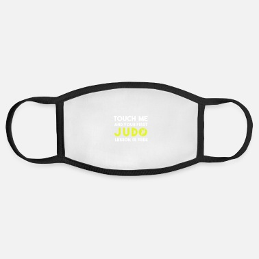 Judo Funny Judo Shirt Judo / Judo Gifts /Judo Training - Face Mask