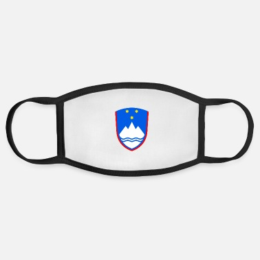 Coat Of Arms Slovenia Coat of arms - Face Mask