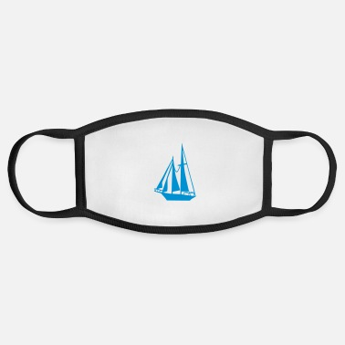 Sail Boat Sailing Boat - Face Mask