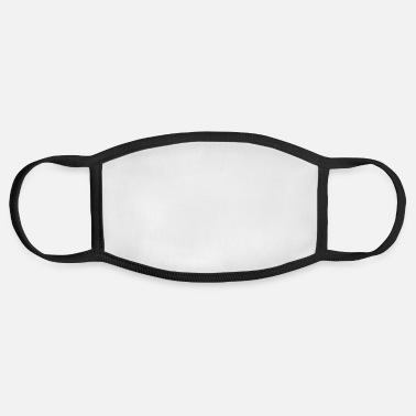 Fat No Fat No Fat Logo Funny - Face Mask