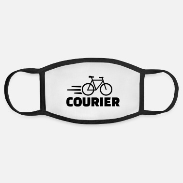 Courier Bike courier - Face Mask