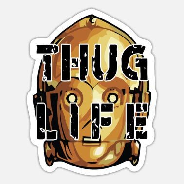 Star Thug Life - Sticker