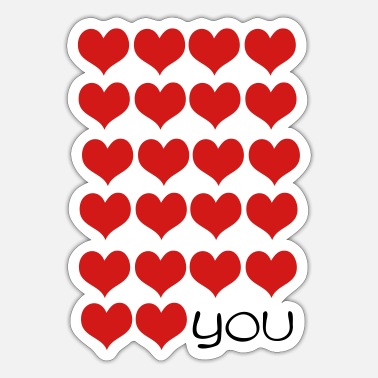 Love You love love YOU - Sticker