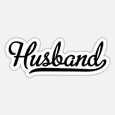 Husband husband - Sticker