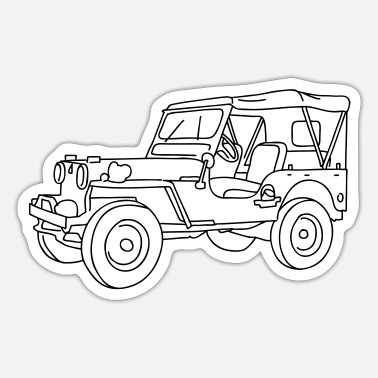Suv SUV - Sticker
