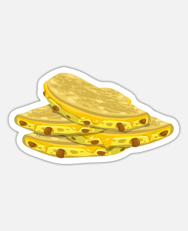 Mexican Stickers - Tacos - Sticker white matte