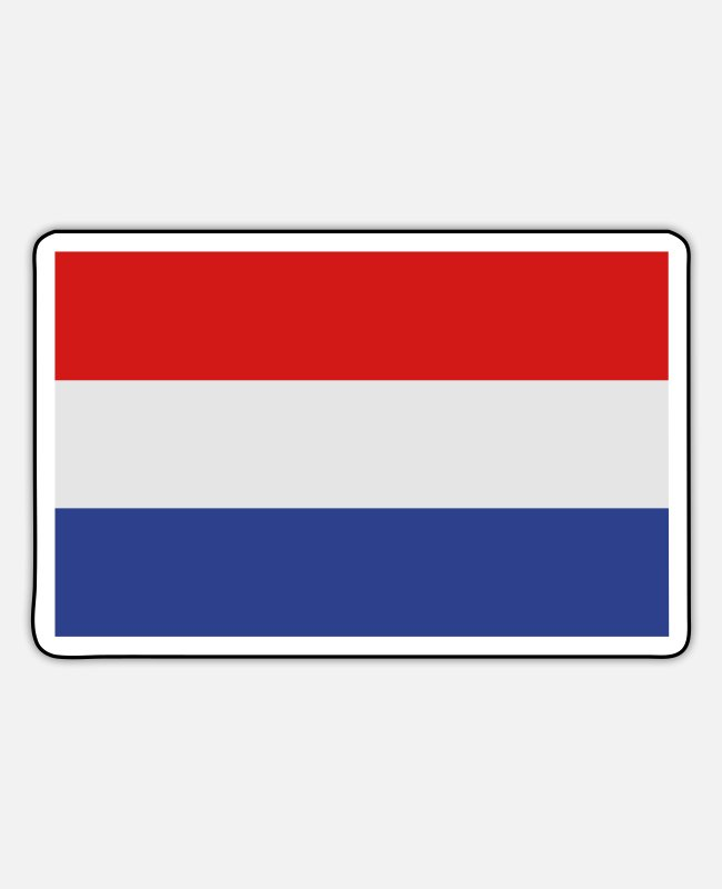 Netherlands Stickers - Netherlands - Sticker white matte