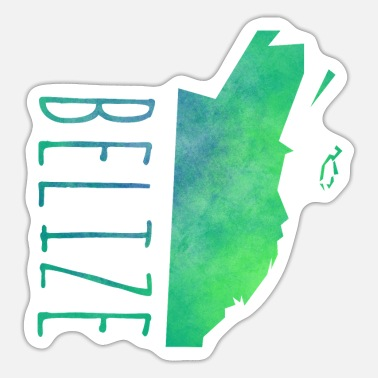 Belize Belize - Sticker