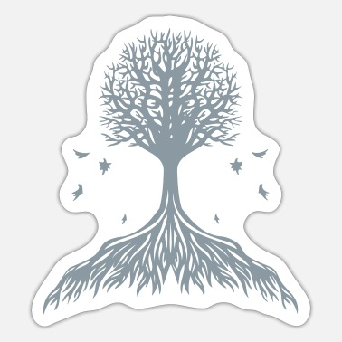 Tree Trees - Sticker