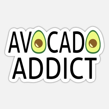 Addicted Avocado Addict - Sticker