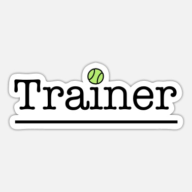 Tennis Trainer tennis trainer - Sticker