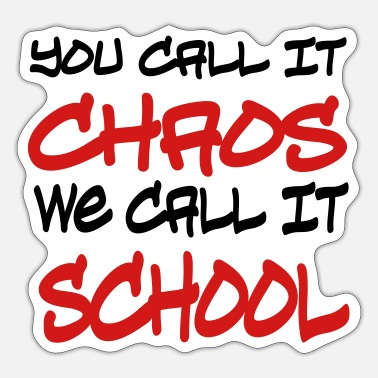 School school - Sticker