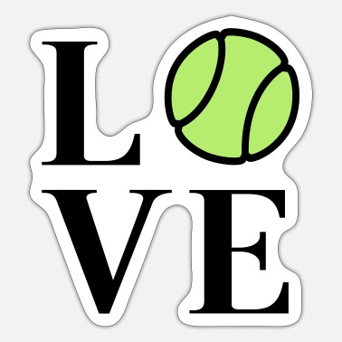 tennis - Sticker
