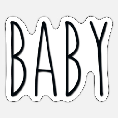 Rae Dunn baby - Sticker