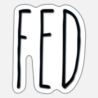 Rae Dunn fed - Sticker