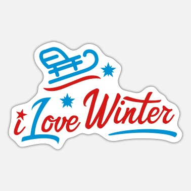 Winter Games winter - Sticker