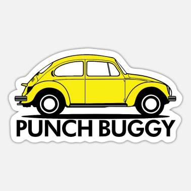 Punch Punch Buggy - Sticker