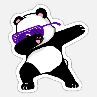 Grad Dab cool bear dab - Sticker