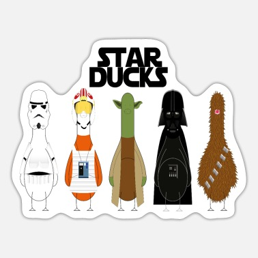 Star starducks funny - Sticker