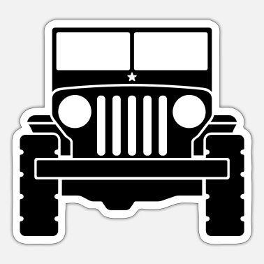 Suv Jeep - SUV - Sticker