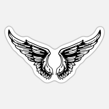 Wing wings - Sticker