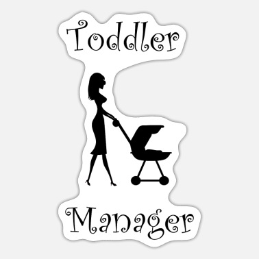 Toddler Toddler Manager - Sticker