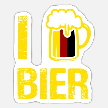 I Love Beer I love beer - Sticker
