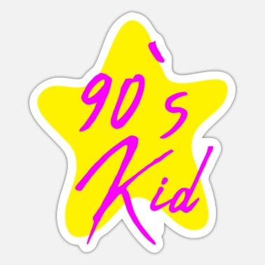 Nineties 90's Kid 90s nineties - Sticker