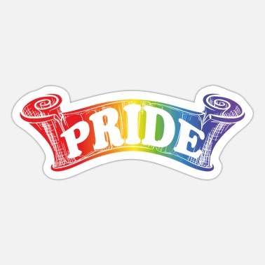 Gay Gay Pride - Sticker