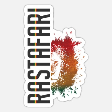 Rastafari rastafari lion - Sticker