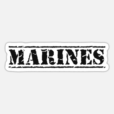 Marine Marines - Sticker