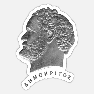 Astronomy Democritus - Sticker