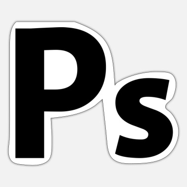 Ps PS - Sticker