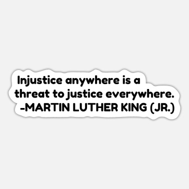 Injustice Injustice - Sticker
