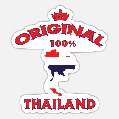 Koh Chang Thailand Original 100% / National Flag / Gift - Sticker