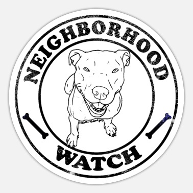 Neighborhood Neighborhood Watch - Sticker