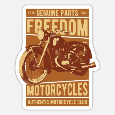 Motorcycle Motorcycle - Sticker