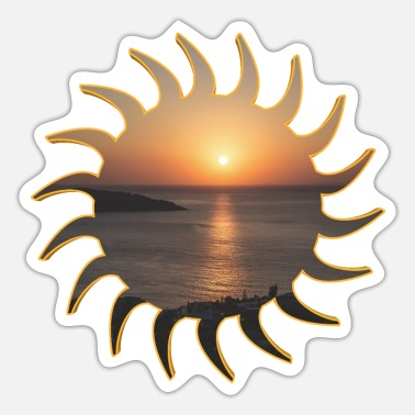 Deluxe Sunrise deluxe - Sticker