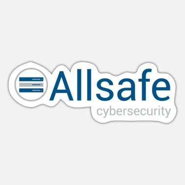 Elliot Mr Robot - Allsafe Cybersecurity - Sticker