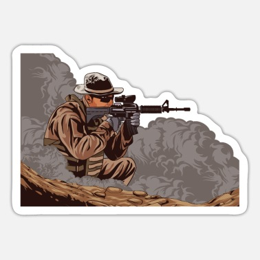 Army Sniper US ARMY Sniper - Sticker