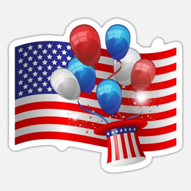 Feast Day USA feast Day - Sticker