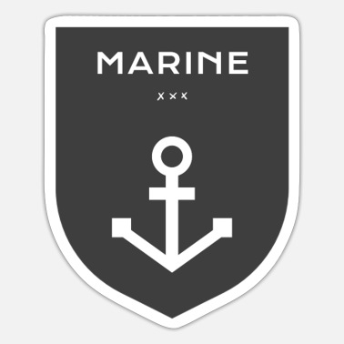 Marine Marine - Sticker