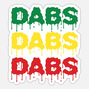 Dabbing Dabs Dabs Dabs - Sticker