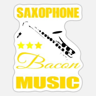 Instrument Saxophone Instrument - Sticker