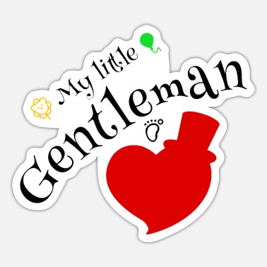 Gentleman Gentleman - Sticker