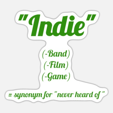 Indie Indie - Sticker