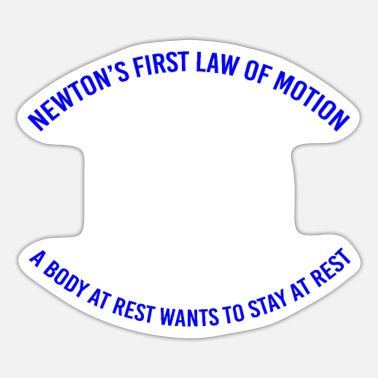 Motion Physics Motion - Sticker