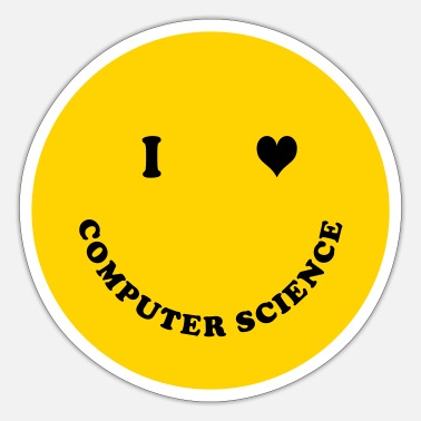Computer Science I love Computer Science - Sticker