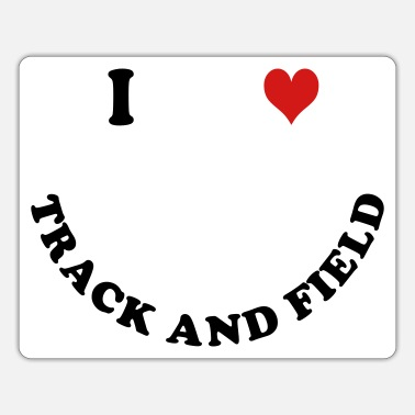 Track And Field Track and Field - Sticker