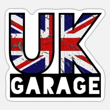 London Underground UK GARAGE DJ MC British Underground Music Style - Sticker